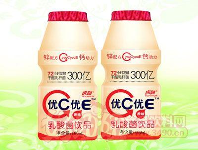 优C优E乳酸菌饮品100ml瓶装