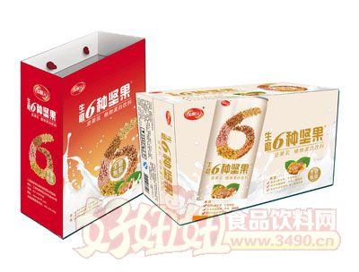 金醒元生磨6种坚果植物蛋白饮料