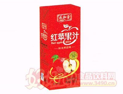 乐加壹红苹果汁250ml盒装装