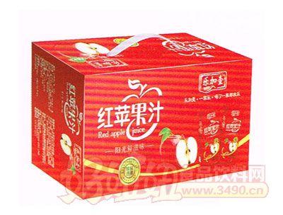 乐加壹红苹果汁250ml箱装