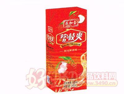 乐加壹荔枝爽250ml盒装