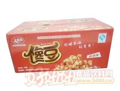 正盛圆馋豆麻辣味箱装
