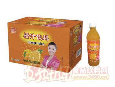 达威橙汁饮料500ml×15瓶