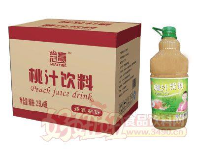 达威桃汁饮料2.5L×6瓶