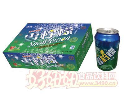 达威雪柠檬碳酸饮料
