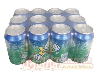 达威雪柠檬碳酸饮料罐装