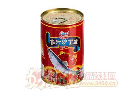 古龙茄汁沙丁鱼罐头425克