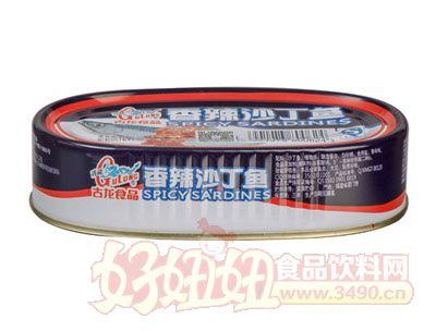 古龙香辣沙丁鱼罐头120克
