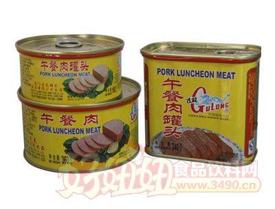 古龙午餐肉罐头