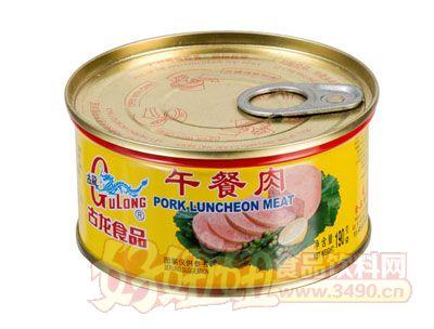 古龙午餐肉罐头190克