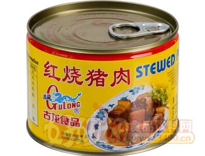 古龙红烧猪肉罐头