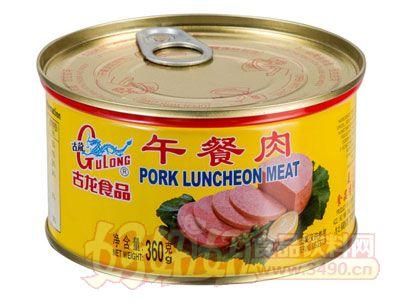 古龙午餐肉罐头360克