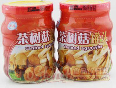 同发170克茶树菇罐头