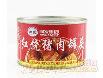 同发227克红烧猪肉罐头
