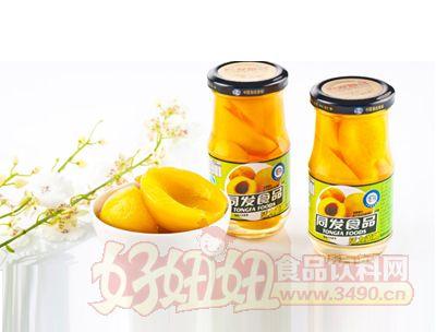 同发248克糖水黄桃罐头