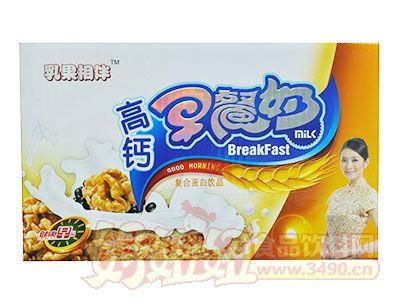 乳果相伴高钙早餐奶