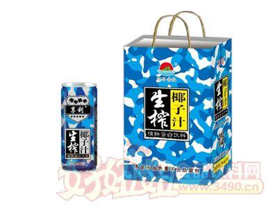 旭日生榨椰子汁礼盒