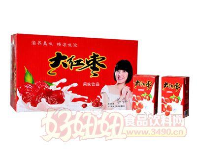 旭日大红枣饮品箱装