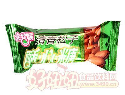 金�z猴酥心糖(清香松子)