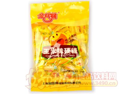 金�z猴玉米味硬糖160g