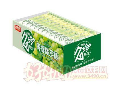 香雪园久珍果汁青提橡皮糖盒装
