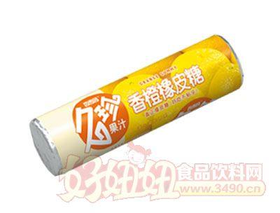 香雪园久珍果汁香橙橡皮糖