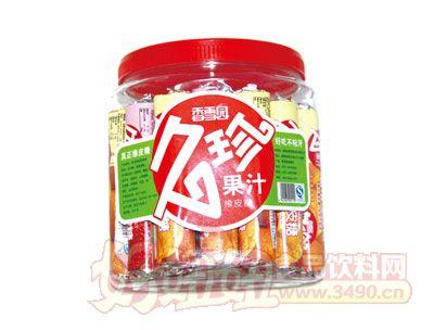 香雪园久珍果汁橡皮糖瓶装