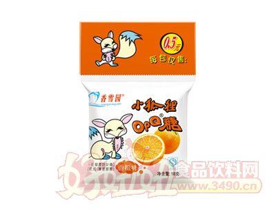 香雪园小狐狸OPQ糖香橙味18g