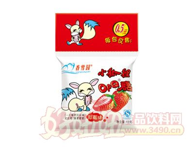 香雪园小狐狸OPQ糖草莓味18g