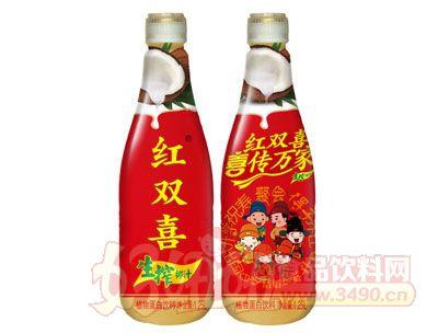 红双喜生榨椰汁1.25L