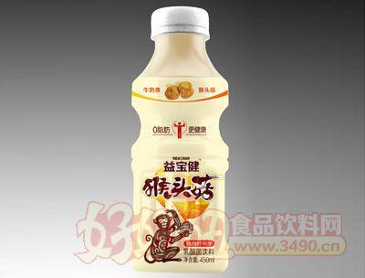 益宝健猴头菇乳酸菌饮料