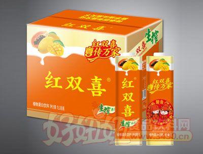 红双喜生榨果汁1Lx8瓶