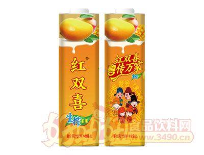 红双喜生榨芒果复合果汁饮料