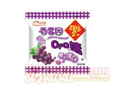 香雪园OPQ糖葡萄味散装