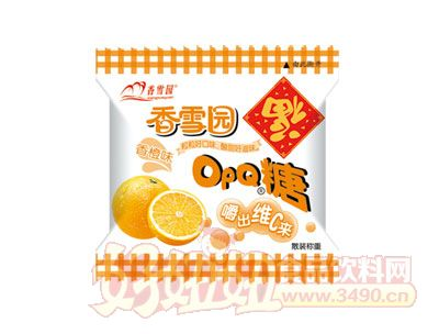 香雪园OPQ糖香橙味散装