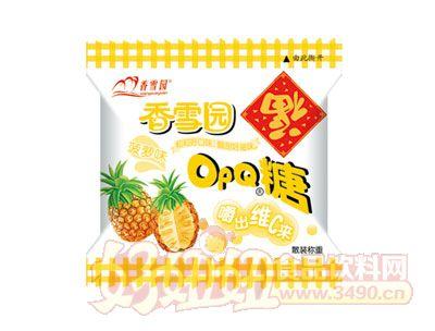 香雪园OPQ糖菠萝味散装