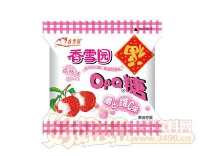 香雪园OPQ糖荔枝味散装