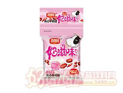 香雪园奶滋味夹心牛奶糖红豆味22g