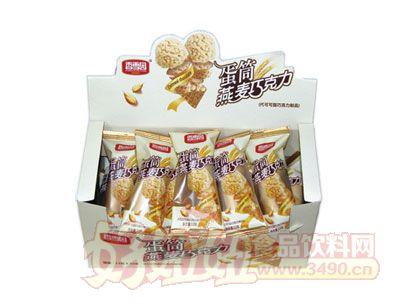 香雪园蛋筒燕麦巧克力盒装