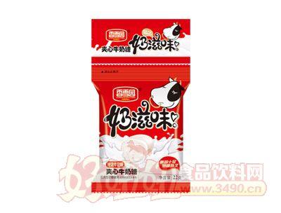 香雪园奶滋味夹心牛奶糖特浓牛奶味22g