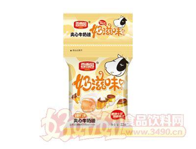 香雪园奶滋味夹心牛奶糖香草布丁味22g