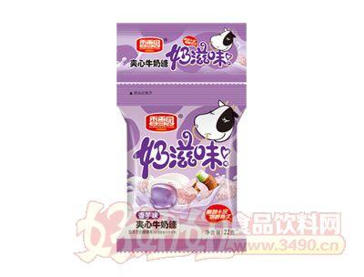 香雪园奶滋味夹心牛奶糖香芋味22g