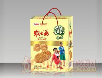 金福郎猴头菇酥性饼干礼盒1.36kg