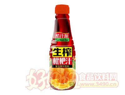 酷汁源生榨枇杷汁500ml瓶装