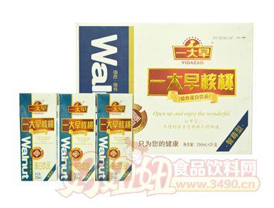 一大早核桃蛋白lehu国际app下载250ml×20盒