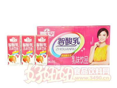 一大早智酸乳乳味lehu国际app下载250ml×20盒