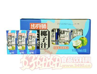 步兵师生榨椰子汁250ml×12盒