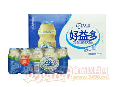 好益多乳酸菌饮品零脂肪
