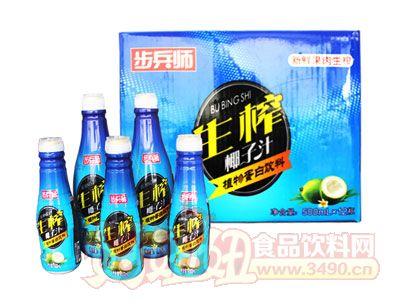 步兵师生榨椰子汁500ml×12瓶