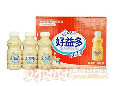 好益多零脂肪乳酸菌饮品